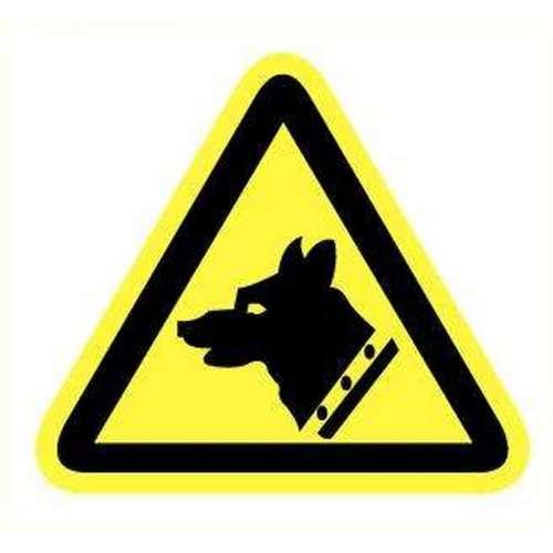 Pictogram Gevaarlijke hond- Sticker