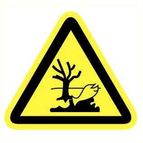 Pictogram gevaar voor milieu- Sticker