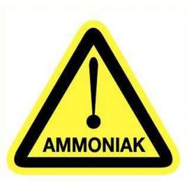 Pictogram ammoniak- Sticker