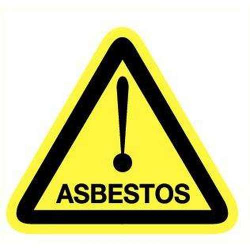 Pictogram asbestos- Sticker