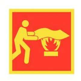Pictogram Brandblusser - Fotoluminescentie