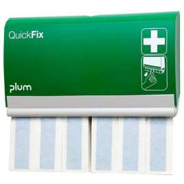 QuickFix Pleisterdispenser met Detecteerbare lange pleisters.