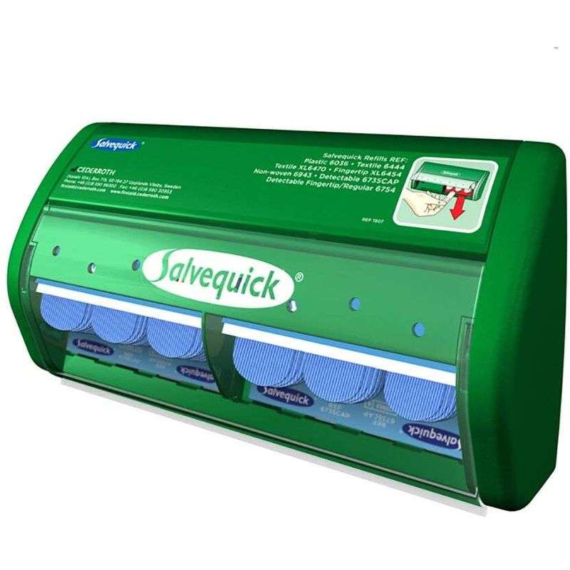 Pleisterautomaat detecteerbaar