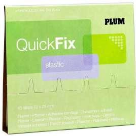 QuickFix Navulling Elastische pleisters 7,2 x 2,5 cm. (45 stuks)