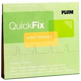 QuickFix Navulling PE pleisters 7,2 x 2,5 cm.
