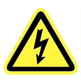 Schakelkast electriciteit pictogram- Sticker 20 cm.