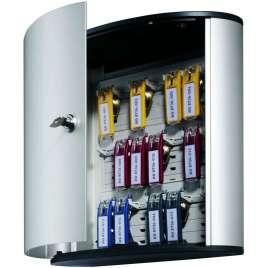 Sleutelkast aluminium met cilinderslot- 18 sleutels