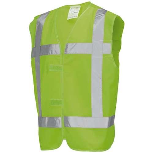 Veiligheidsvest groen- met opdruk Ploegleider