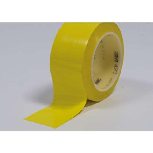 Vloermarkeringstape- Geel 5 cm.