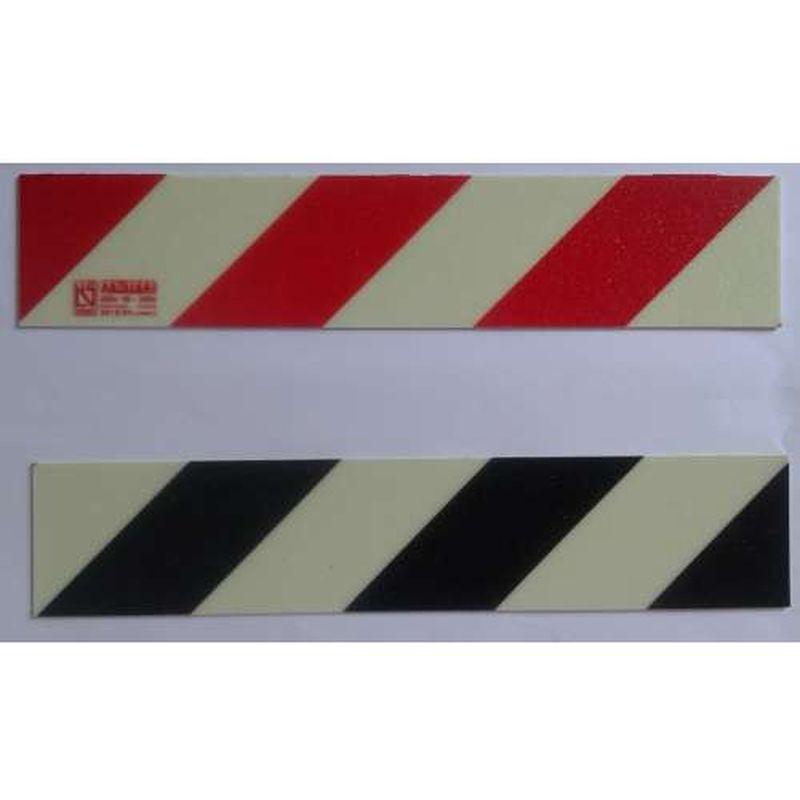 Anti-slip trapstrip geel/zwart