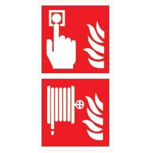 Pictogram Handbrandmelder/Brandslanghaspel- Combibord