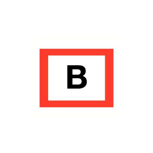 Aansluitpunt droge blusleiding pictogram- Bord