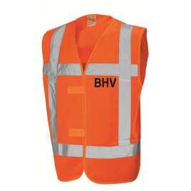 Veiligheidsvest BHV-opdruk