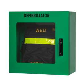 AED-wandkast grijs