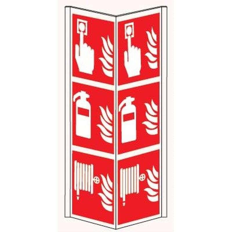 Panoramisch bord knop/blusser/brandslang