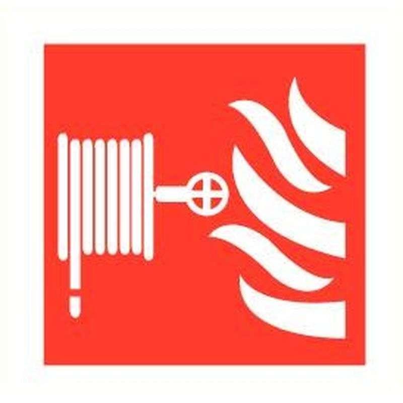 Sticker brandhaspel zelfklevend