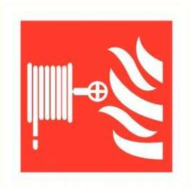 Pictogram Brandslanghaspel- Sticker