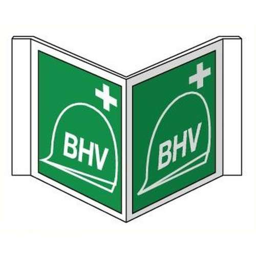 Pictogram BHV- Panoramisch bord