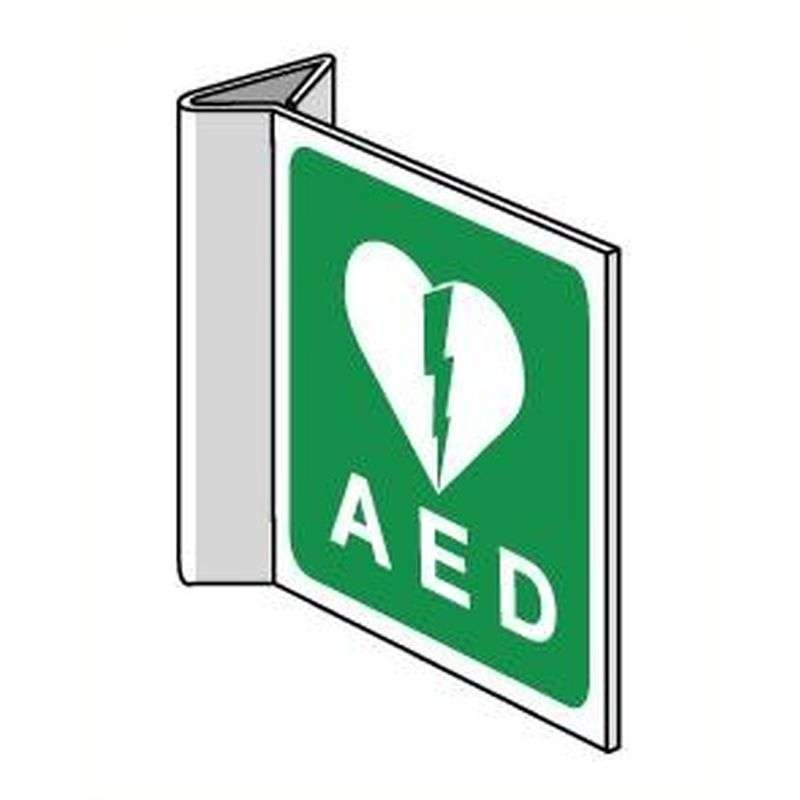 Haaks bord AED