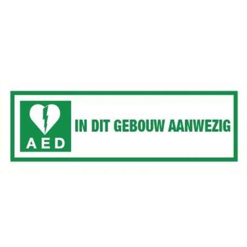 Pictogram AED- Sticker