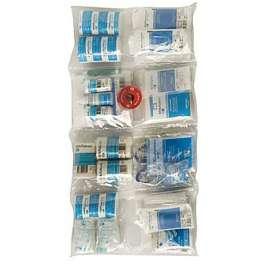 Vulling verbandkoffer blauw HACCP