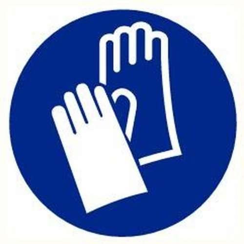 Pictogram veiligheidsschoenen verplicht- Sticker