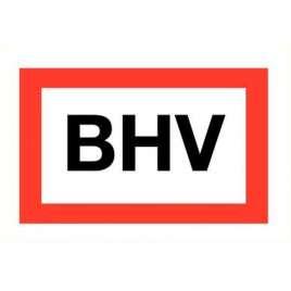 BHV- Sticker 20 x 15 cm.