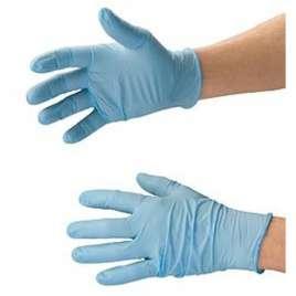Handschoenen Nitrile- Maat large