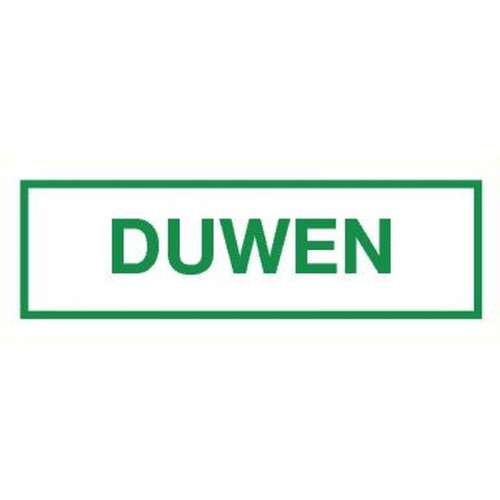 Pictogram duwen- Sticker