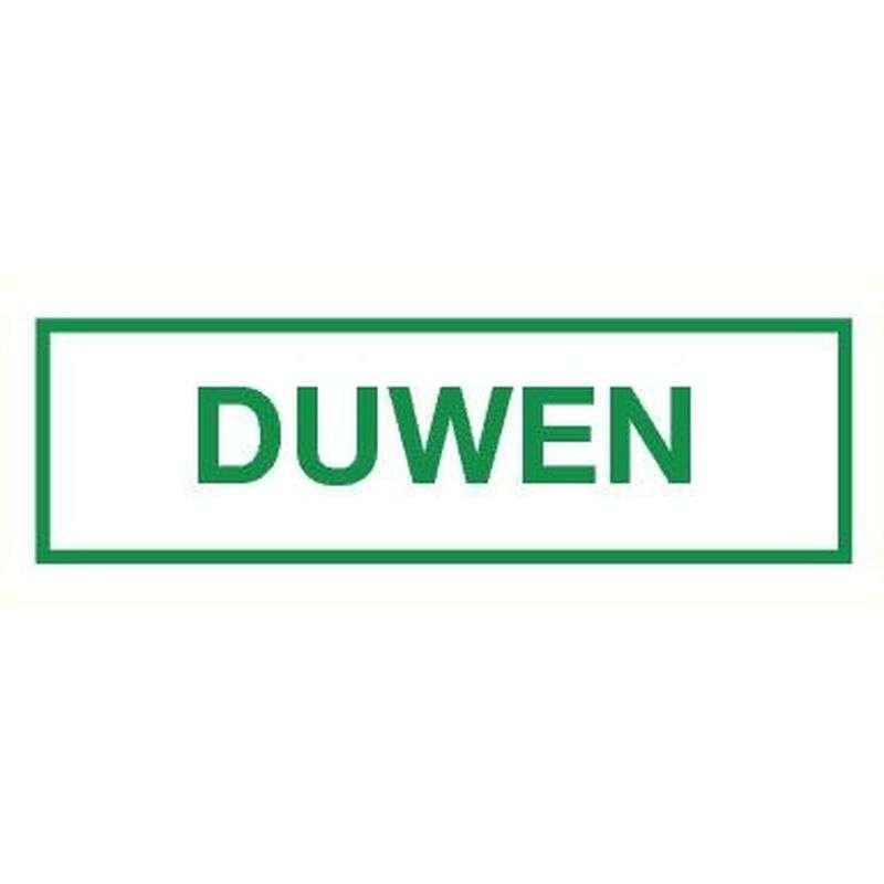 PICTOGRAM DUWEN-STICKER