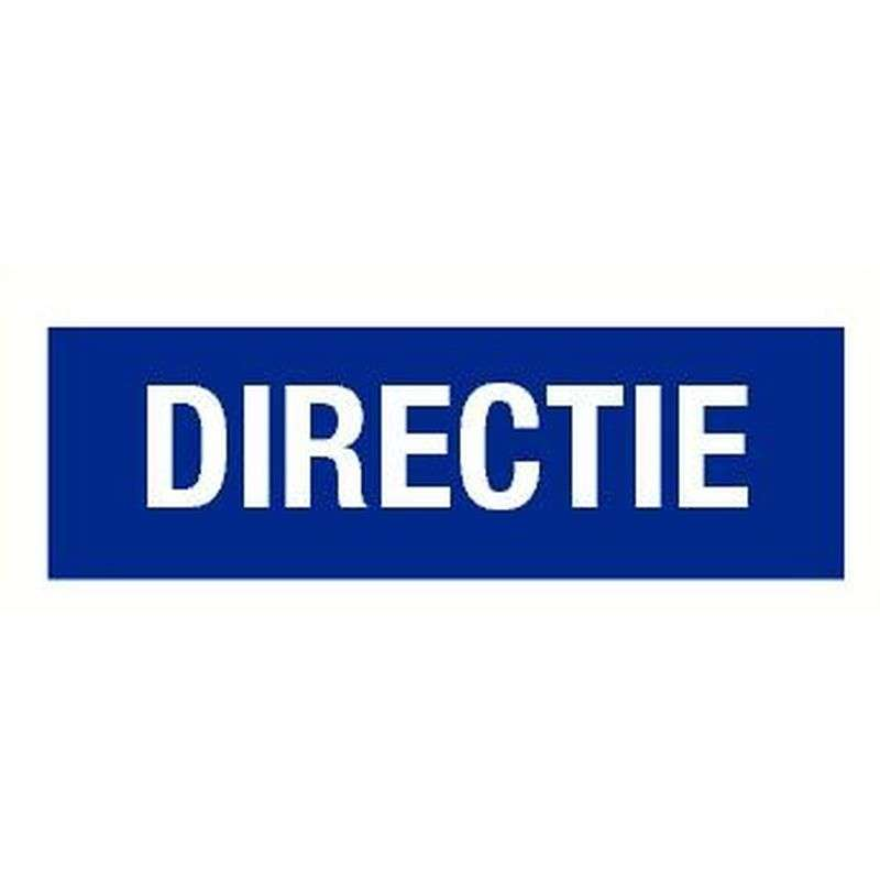 PICTOGRAM DIRECTIE-STICKER