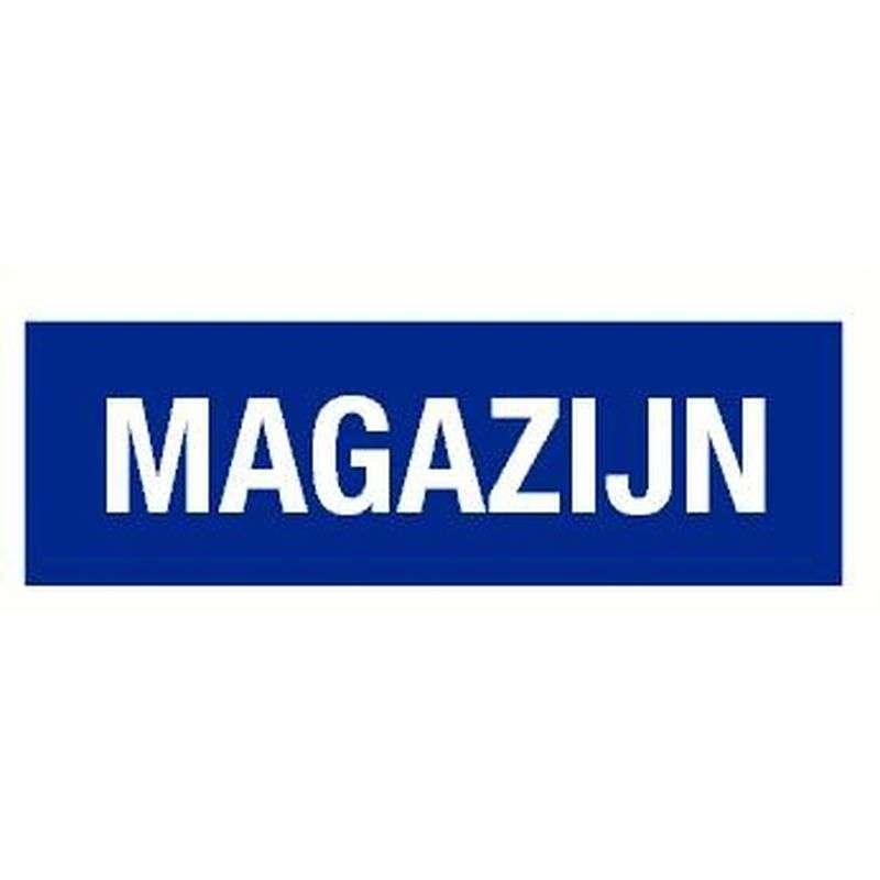PICTOGRAM MAGAZIJN-STICKER