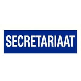 Pictogram secretariaat- Sticker