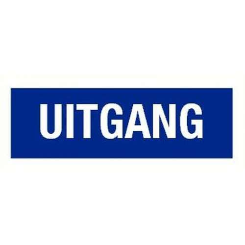 Pictogram uitgang- Sticker