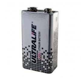 9-volts batterij Lithium