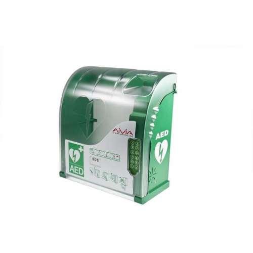 AIVIA 210 AED Buitenkast met verwarming- Met pincode slot