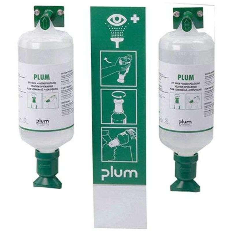 Plum Oogdouchestation 2 x 1000 ml Sodium chloride
