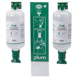 Oogspoelstation Plum 2 x 1 Liter- Zoutoplossing