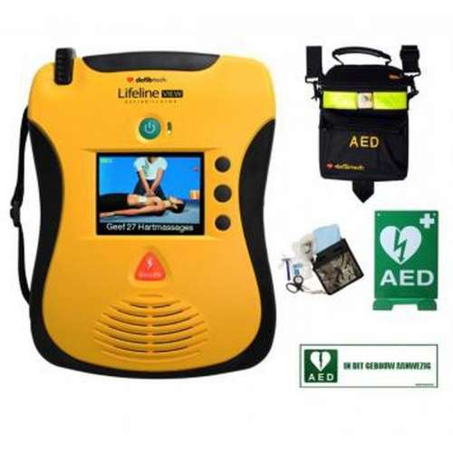 AED- Defibtech View- COMBIPAKKET B
