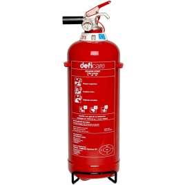 Brandblusser Schuim 2 Liter- Voor thuis, auto, camping-Vorstbestendig
