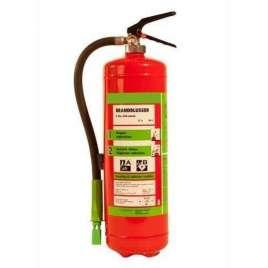 Brandblusser Schuim 6 Liter- Vorstvrij buitengebruik