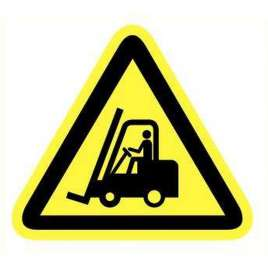 Pictogram Vorkheftruck- Sticker
