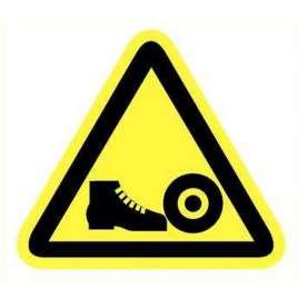 Pictogram - Gevaar voor voeten- Sticker