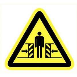 Pictogram - Pletgevaar- Sticker