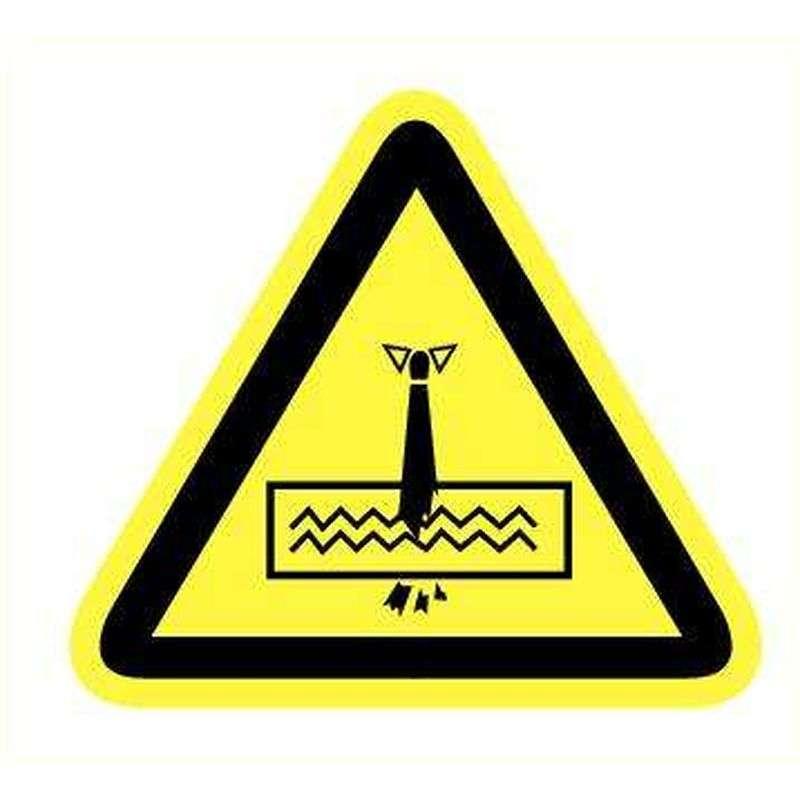 Hangende lasten- Sticker