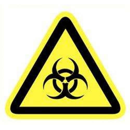 Pictogram Biologisch gevaar- Sticker